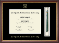 Northland International University Diploma Frame - Tassel Edition Diploma Frame in Newport