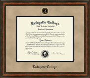 Lafayette College Diploma Frame - Heirloom Edition Diploma Frame in Ashford