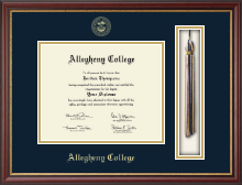 Allegheny College Diploma Frame - Tassel Edition Diploma Frame in Newport