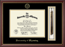 University of Wyoming Diploma Frame - Tassel Diploma Frame in Newport