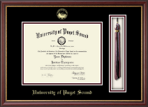 University of Puget Sound Diploma Frame - Tassel Edition Diploma Frame in Newport