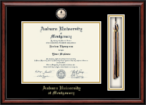 Auburn University Montgomery Diploma Frame - Tassel Masterpiece Edition Diploma Frame in Southport