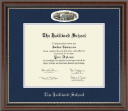 The Juilliard School Diploma Frame - Campus Cameo Diploma Frame in Chateau