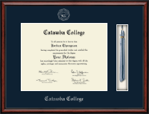 Catawba College Diploma Frame - Tassel Edition Diploma Frame in Southport