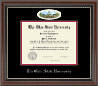 The Ohio State University Diploma Frame - Campus Cameo Diploma Frame in Chateau