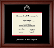 University of Indianapolis Diploma Frame - Silver Embossed Diploma Frame in Cambridge