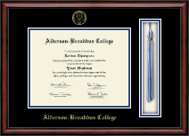 Alderson-Broaddus College Diploma Frame - Tassel Edition Diploma Frame in Southport