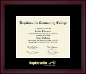 Hopkinsville Community College at Kentucky Diploma Frame - Gold Embossed Achievement Edition Diploma Frame in Academy