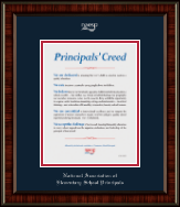 National Association Elementary School Principals Certificate Frame - Embossed Certificate Frame in Ridgewood