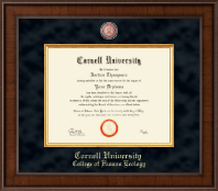 Cornell University Diploma Frame - Presidential Masterpiece Diploma Frame in Madison