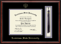 Louisiana State University Diploma Frame - Tassel Edition Diploma Frame in Southport