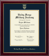 Valley Forge Military Academy Diploma Frame - Gold Embossed Diploma Frame in Gallery
