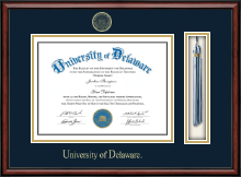 University of Delaware Diploma Frame - Tassel Edition Diploma Frame in Southport