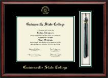Gainesville State College Diploma Frame - Tassel Edition Diploma Frame in Southport