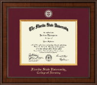 Florida State University Diploma Frame - Presidential Masterpiece Diploma Frame in Madison