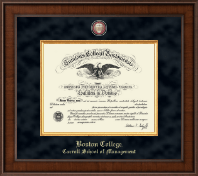 Boston College Diploma Frame - Presidential Masterpiece Diploma Frame in Madison