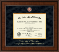 University of Nebraska Diploma Frame - Presidential Masterpiece Diploma Frame in Madison