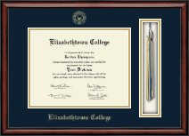 Elizabethtown College Diploma Frame - Tassel Edition Diploma Frame in Southport