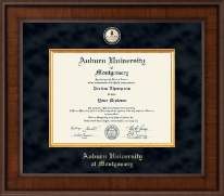 Auburn University Montgomery Diploma Frame - Presidential Masterpiece Diploma Frame in Madison
