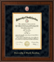 University of South Carolina Diploma Frame - Presidential Masterpiece Diploma Frame in Madison