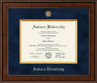 Auburn University Diploma Frame - Presidential Masterpiece Diploma Frame in Madison