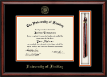 The University of Findlay Diploma Frame - Tassel Edition Diploma Frame in Southport