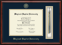 Wayland Baptist University Diploma Frame - Tassel Edition Diploma Frame in Southport