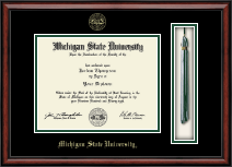 Michigan State University Diploma Frame - Tassel Edition Diploma Frame in Southport