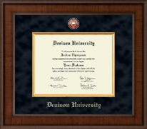 Denison University  Diploma Frame - Presidential Masterpiece Diploma Frame in Madison