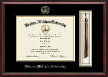 Western Michigan University Diploma Frame - Tassel Edition Diploma Frame in Southport