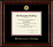 The Governor's Academy Diploma Frame - Gold Engraved Medallion Diploma Frame in Ridgewood