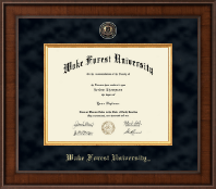Wake Forest University Diploma Frame - Presidential Masterpiece Diploma Frame in Madison
