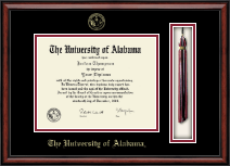 The University of Alabama Tuscaloosa Diploma Frame - Tassel Edition Diploma Frame in Southport