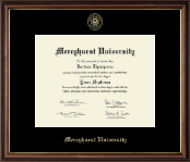 Mercyhurst University  Diploma Frame - Gold Embossed Diploma Frame in Williamsburg