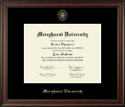 Mercyhurst University  Diploma Frame - Gold Embossed Diploma Frame in Studio