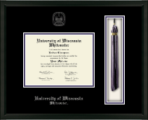 University of Wisconsin Whitewater Diploma Frame - Tassel Edition Diploma Frame in Omega
