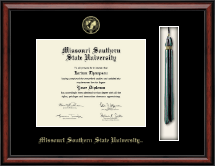Missouri Southern State University Diploma Frame - Tassel Edition Diploma Frame in Southport