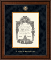 United States Military Academy Diploma Frame - Presidential Masterpiece Diploma Frame in Madison