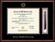 Texas A&M University Diploma Frame - Tassel Edition Diploma Frame in Southport