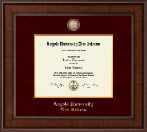 Loyola University New Orleans Diploma Frame - Presidential Masterpiece Diploma Frame in Madison