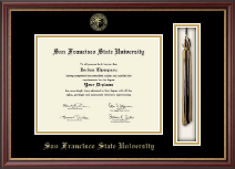 San Francisco State University Diploma Frame - Tassel Edition Diploma Frame in Newport