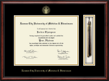 Kansas City University of Medicine and Biosciences Diploma Frame - Tassel Edition Diploma Frame in Southport
