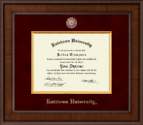 Kutztown University Diploma Frame - Presidential Masterpiece Diploma Frame in Madison