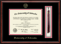 University of Nebraska Diploma Frame - Tassel Edition Diploma Frame in Southport