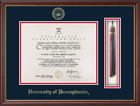 University of Pennsylvania Diploma Frame - Tassel Edition Diploma Frame in Newport