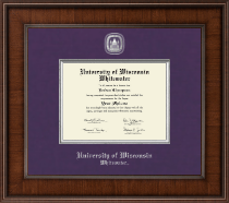 University of Wisconsin Whitewater Diploma Frame - Presidential Masterpiece Diploma Frame in Madison