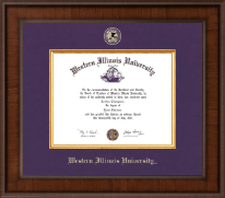 Western Illinois University Diploma Frame - Presidential Masterpiece Diploma Frame in Madison