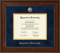 Pepperdine University Diploma Frame - Presidential Masterpiece Diploma Frame in Madison