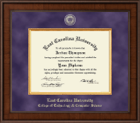 East Carolina University Diploma Frame - Presidential Masterpiece Diploma Frame in Madison