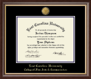 East Carolina University Diploma Frame - 23k Medallion Diploma Frame in Hampshire